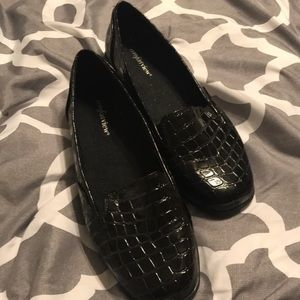New without tags black Comfort View slip on shoes.